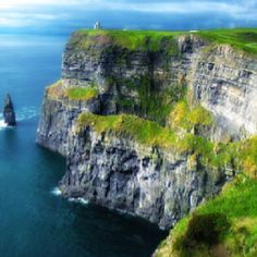 O'Brien Castle on the Cliffs of Moher, Ireland