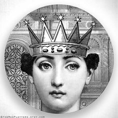royals no.2, Cavalieri melamine plate