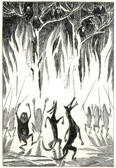 Vintage Illustrations for Tolkien's The Hobbit from Around the World – Brain Pickings