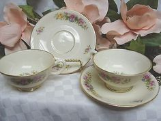 Lenox China Dinnerware, Avon Pattern #S300 set 2 cup and saucer – china glass and more