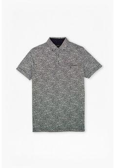 Camisa Polo Ralph Lauren Custom Fit Preto Pony Cinza