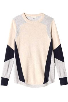 Cozy up in one of these ten amazing sweater trends. See them all here.