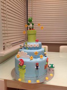 SuperMarioBros#BirthdayCake#mycakes