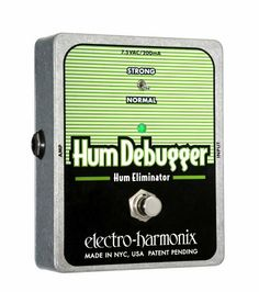 Electro-Harmonix Hum Debugger by Electro-Harmonix. $121.20. Save 25%!