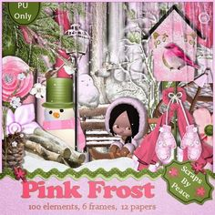 Scrap in Designs: Freebie Pink Frost Kit