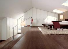 Modern bedroom Loft - Warm Bedroom Decorating Ideas by Huelsta Natural Bedroom, Warm Bedroom, Bedroom Loft, Bedroom Decor, Bedroom Ideas, Bedroom Furniture, Bedroom Closets, Loft Room, Upstairs Bedroom