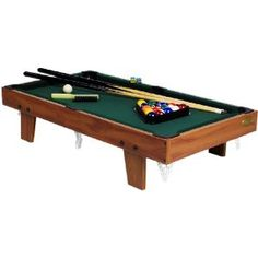 Mini Billiard Table Compact Pool Table Complete Set Inch Portable - 40 inch pool table