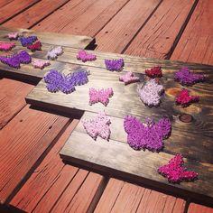 Cadena arte de mariposa por nidify en Etsy