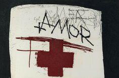 By Antoni Tapies Spanish Painters, Spanish Artists, Gerardo Murillo, Abstract Expressionism, Abstract Art, Modern Art, Contemporary Art, Street Art, Cross Love