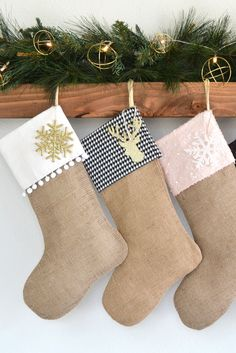 The perfect stockings to stuff