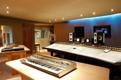 Control Room at Angelic Studios, Oxford