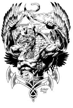 Anubis warrior by Anubiscomics