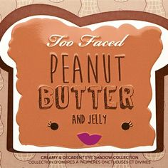 Are You Ready for a Too Faced Eye-Shadow Palette That Smells Like Peanut Butter and Jelly? Peach Palette, Eye Palette, Eyeshadow Palette, Too Faced Eyeshadow, Too Faced Makeup, Too Faced Lidschatten, Too Faced Peanut Butter, Sweet Peach, Cutest Thing Ever