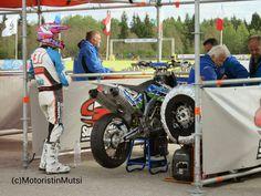 Mauno Hermunen, #131 at pit stop in Tabasalu, Estonia 2014