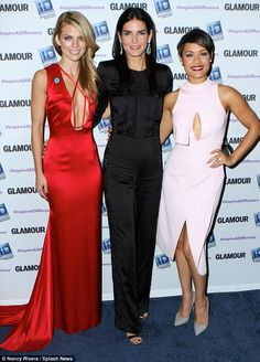 Activists: The actresses were being honored for their activism on behalf of victims of sex...