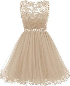 Himoda Lace Homecoming Dresses Sequined s Cocktail Prom Gowns Short Gold Dama Dresses, Quinceanera Dama Dresses, Quince Dresses, Hoco Dresses, Prom Gowns, Pretty Homecoming Dresses, Pretty Dresses, Beautiful Dresses, Fashion Dresses