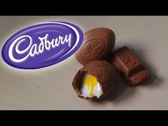 Cadbury Cream Egg & Chocolate - Polymer Clay Tutorial