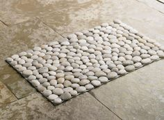 Rugs of pebbles