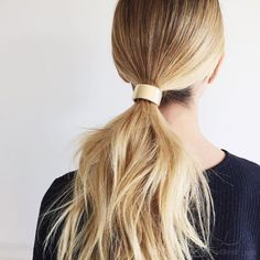 Because you're definitely sick of the same ol' topknot.