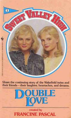 My favorite series as a preteen Sweet Valley High.  I think I have the whole series in boxes waiting for Abby to read them!