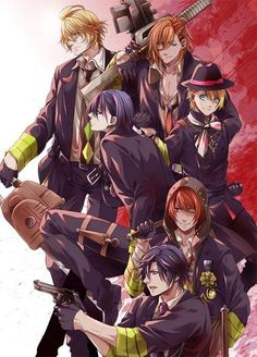 Uta no prince sama... I'm not gonna ask why Natsuki has a chainsaw lol