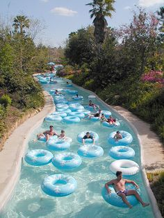 Blizzard Beach, Disney World Spent a summer on this river. Can't wait to visit it again in June!