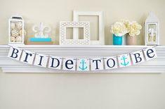 NAUTICAL BRIDAL DECOR Bridal Shower Banner by ABannerAffair