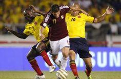 Venezuela vs Colombia En Vivo por Caracol Eliminatorias 2013 de la Conmebol rumbo al Mundial Brasil 2014 juegan hoy Martes 26 de Marzo a partir de las 18:00hrs ET en el Estadio CTE Cachamay Caracas, Venezuela.