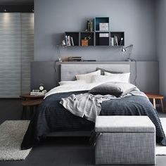 Calm and comfortable in a few shades of grey. Trust us, you don't want too many.