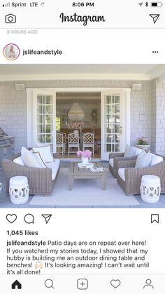 Patio ideas #patio #patiodesign #patioideas #patiobackyardideas