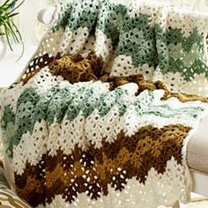 Start with double crochet parallel cluster stitch - mostly every crochet fan do this stunning blanket or bedspread - depends on you. Beautiful yarn - this is a magical secret to get unbelievable effect. Yes