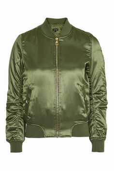 Shiny Ma1 Bomber Jacket - Topshop USA