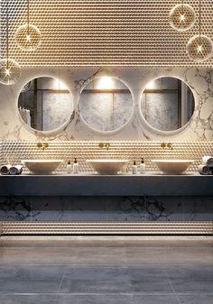 Villa in Middle East on Behance #restaurantdesign