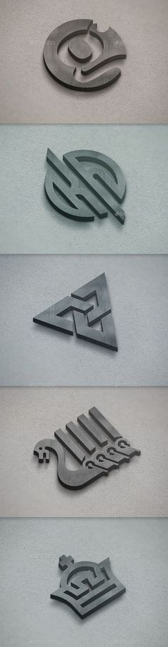 Realistic 3D Logo Mockup http://jrstudioweb.com/diseno-grafico/diseno-de-logotipos/