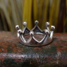 FashionJunkie4Life - Crown Ring - Sterling Silver, $26.00 (http://www.fashionjunkie4life.com/crown-ring-sterling-silver/) 10% discount for Pinterest users. Coupon code PIN10.