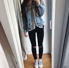fashion, outfit, style, girl and grunge