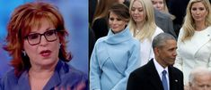 Melania Trump deserves no sympathy during scandals concerning the Trump administration because she is a birther, according to The View co-host Joy Behar. The comments were made on Wednesday's broadcas