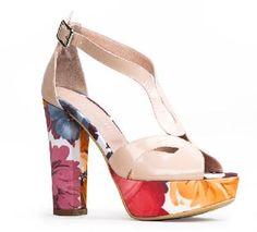 PrimeraNoticia.com Shoes Heels, Platform, Base, Fashion, Templates, Spring Summer 2016, Spring Fashion, Zapatos, Wedge Sandal