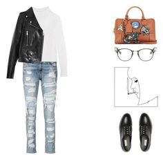 """""""#529"""" by missad3 ❤ liked on Polyvore featuring rag & bone/JEAN, Isabel Marant, Yves Saint Laurent, Balenciaga, Dita, women's clothing, women, female, woman and misses"""