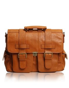 Epiphanie Burnt Orange London camera + iPad + laptop backpack messenger bag