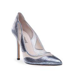 3583-8 ACERO. Salon en piel sako color acero con rejilla beig. Planta con gel para aumentar confort. Shop online: doriani.com #Doriani #DorianiShoes #bridalshoes #shoes