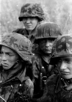 Faces of war: Leibstandarte soldiers during Operation Zitadelle in July 1943