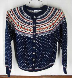 Label: Genuine Hand knite from Norway, Norsk Håndstrikk as, Bergen - Norway