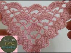 Crochet Scarves, Crochet Shawl, Knit Crochet, Crochet Diagram, Crochet Patterns, Make Your Own, Make It Yourself, How To Make, Crochet Accessories
