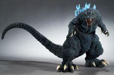 Gigantic Series Godzilla 2001 Blue Fin Big (1300×863)