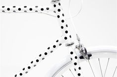Polkadots.. ❥ #bike #fixie