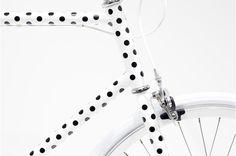 Polkadots.. ❥ #bike #fixie