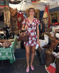 Pin for Later: 29 Ways to Make Your Go-To Summer Dress Look Brand New Contrast It With a Printed Bag and Unexpected Shoes