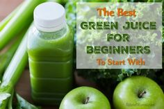 Trying green juice can be daunting for beginners. Here is the best green juice for beginners to start with and enjoy. Click for recipe.