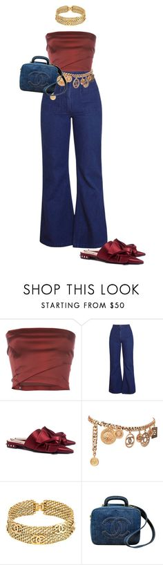 """Untitled #17"" by rbstyles ❤ liked on Polyvore featuring Romeo Gigli, N°21 and Chanel"